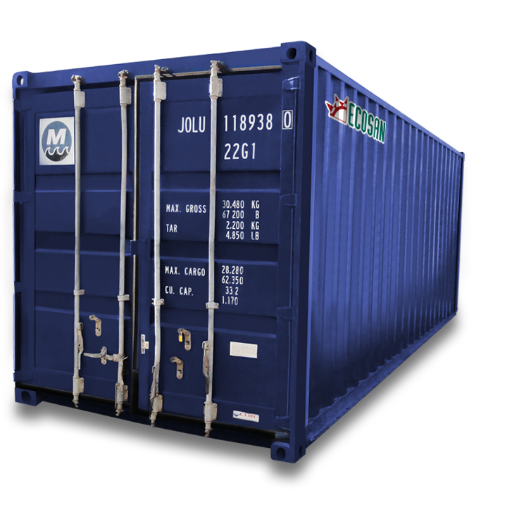 ecosan containers maritimos